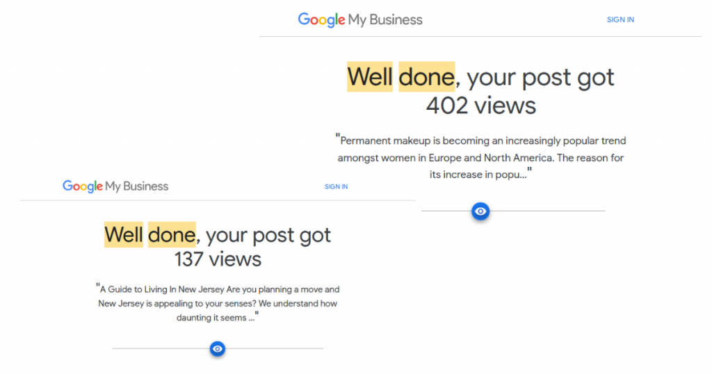 Halifax SEO - Google my Business Posts - Content Creation