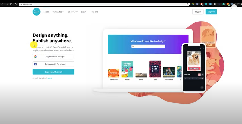 How To Use Canva For BEGINNERS!